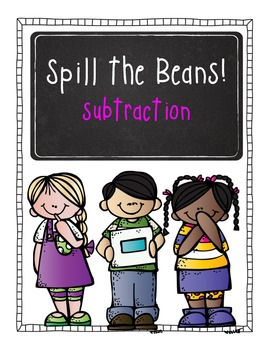 Spill the Beans Subtraction