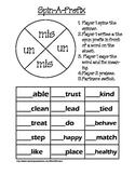 Spin-A-Prefix - un and mis
