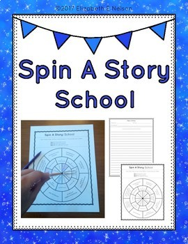 Spin A Story: School Story Spinner