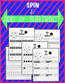Spin & Add or Subtract