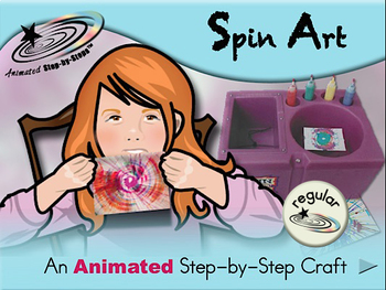 Spin Art - Animated Step-by-Step Craft