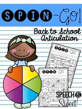 Spin-Go: Back to School Articulation