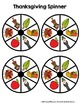 Spin & Graph: Thanksgiving Style (Bar Graph, Tally Chart,