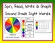 Spin, Read, Write and Graph Dolch Sight Word BUNDLE!