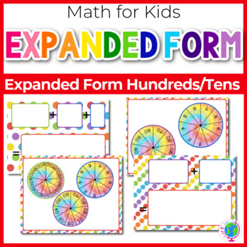 Expanded and Standard Form Numbers-Tens and Hundreds