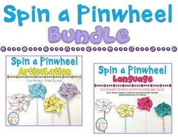 Spin a Pinwheel Bundle for Articulation and Language