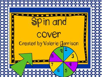"""""""Spin and Cover"""" Math Mats"""