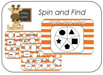 Spin and Find a Word
