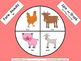 Spin and Graph No Prep - Farm Animals and Farm Babies (6 SETS)
