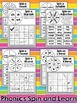 Spinner Games for ELA and Math - Print and Go