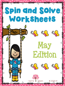 Spin and Solve Worksheets - May Edition (Freebie)