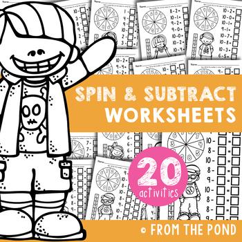Subtraction Worksheets