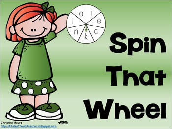 Spin that Wheel {Sight Words}