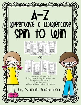 Spin to Win ABCs -- Uppercase vs. Lowercase