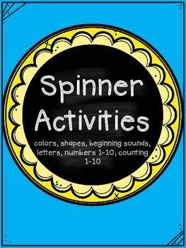 Spinner Activities