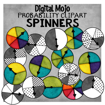 Spinner Clipart – Probability Clipart