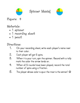 Spinner Mania math game