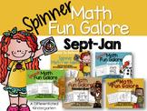 Spinner Math Fun Galore-September thru January Bundle