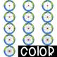 Spinners Clip Art - Earth Day Spinners {jen hart Clip Art}