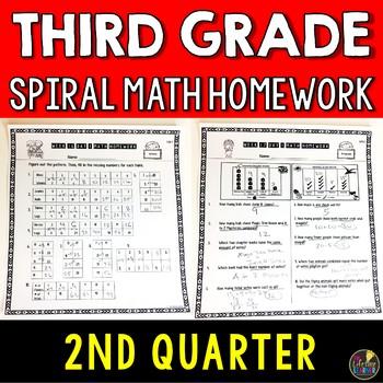 Math Homework Third Grade Quarter 2