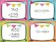 Spiral Math Review Task Cards-September