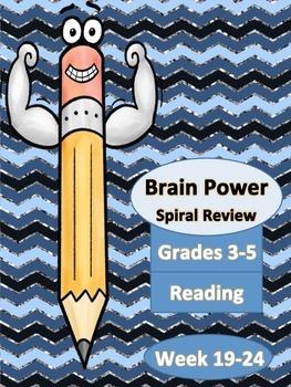 Spiral Reading Homework Weeks 19-24