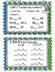 Math Task Cards June 1st Grade Math