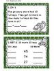 Math Task Cards November 1st Grade Math