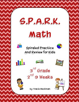 Spiraled STAAR/Common Core Math Review for 3rd Grade - 2nd