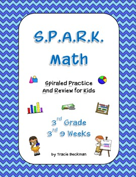 Spiraled STAAR/Common Core Math Review for 3rd Grade - 3rd