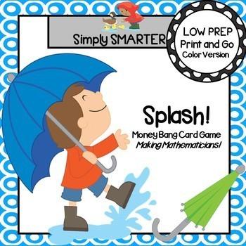 Splash!:  LOW PREP Money Bang Card Game