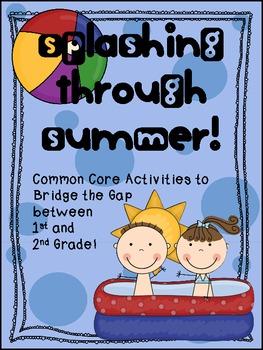 Splashing Through Summer Common Core Packet