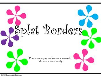 Splat Borders