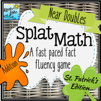 Splat Math Game - Near Doubles Addition Fluency