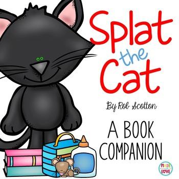 Splat the Cat Book Companion