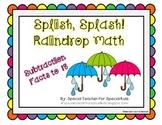 Splish, Splash! Raindrop Math {Aligned with Common Core}