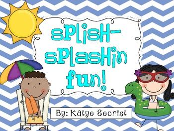 Splish Splashin Fun! {Summer Literacy Themed Unit}