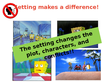 Spongebob: Setting Affects Plot and Conflicts!
