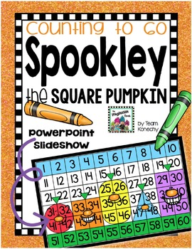 Spookley the Square Pumpkin - Number Chart