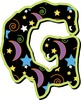 Spooky Alphabet Digital Clip Art  – Uppercase Letters/Numb