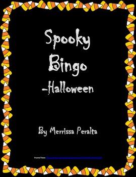 Spooky Bingo-Halloween