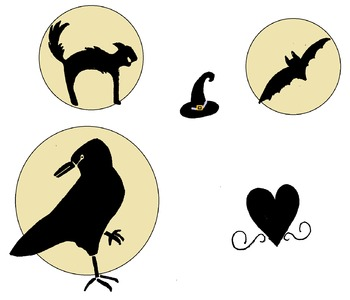 Spooky Clipart and backgrounds