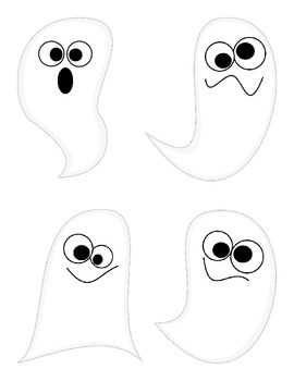 Spooky Ghosts ~ A Halloween Articulation Game!