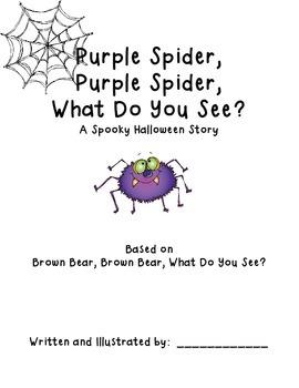 Spooky Halloween Class Book based of Brown Bear, Brown Bear