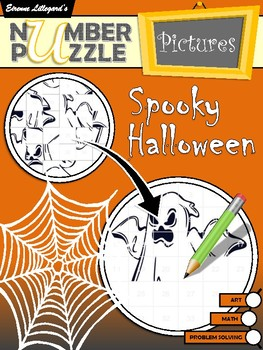 Spooky Halloween Number Puzzle Pictures