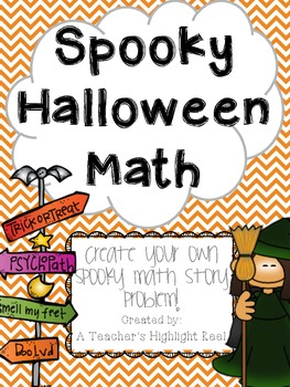 Spooky Halloween Story Problems