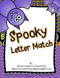 Spooky Letter Match