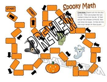Spooky Math - Multiplication