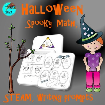 Spooky - Math, STEAM - Biomimicry, Writing Prompts