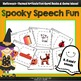 Spooky Speech Fun - K, G, F